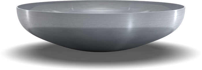 Torispherical heads DIN 28011 - ellipsoidal head, spherical